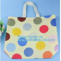 Buy cheap Wholesale Reusable Tote Shopping non woven bags in dubai, Fashion Laser Non Woven Bag with Customized Printing Metallic from wholesalers