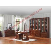 Buy cheap High Quality Solid Wooden Material Bookcase Set in Study Room from wholesalers