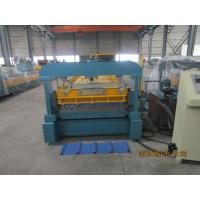 Buy cheap Metal Roof Sheet Double Layer Roll Forming Machine with heat treatment from wholesalers