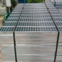 Buy cheap High strength hot galvanized flat bar steel grating from wholesalers