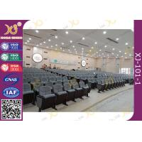 Buy cheap 18mm Plywood Hardwood Outer Lecture / Church Hall Chairs With Low Back Floor product