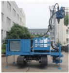 Buy cheap Blue Self Walking Water Well Drilling Rig , Water Well Drilling Equipment from wholesalers