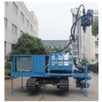 Buy cheap CE Certificated Self-walking Water Well Drilling Rig of  Drilling Depth 300 meters  with 150mm-400mm Drilling Diameter from wholesalers