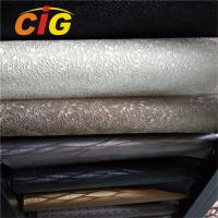 Buy cheap Colorful PVC Vinyl Fabric , 0.6mm -1.2mm Upholstery PVC Leather Anti Mildew product