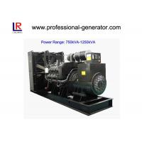 Buy cheap Low Noise 50Hz/60Hz Diesel Powered Generator 900kVA/720kw Water Cooling from wholesalers