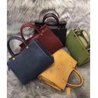 Buy cheap 2018 newest design original manufacturer leather lady classical first layer leather handbag from wholesalers