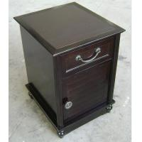 Wood nightstands quality wood nightstands for sale for Narrow bedside table night stand