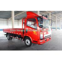 Buy cheap 4 x 2 Cargo Light Duty Cargo Trucks , Flatbed Truck With 80L Fuel Tank from wholesalers