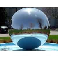 Buy cheap 2m Branded Mirror Balloon Inflatable In Sliver Color For Festivial from wholesalers