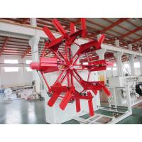 Buy cheap SGJ-2500 HDPE Pipe Coiler 40mm-110mm  Pipe Winding Machine With Torque Motor from wholesalers