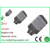 Buy cheap Aluminum Led Street Light Bridgelux Chip AC85 - 265V Meanwell Driver from wholesalers