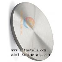 Buy cheap 99.9% Pure Zr Zirconium Plate Zr Sputtering Target from wholesalers