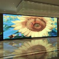 Buy cheap SMD2121 RGB Indoor Video Wall Screen , Advertising Display Boards Iron Cabinet from wholesalers