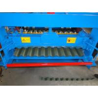 Buy cheap Durable Long life-span Color coated Steel  Roofing Sheet Roll Forming Machine 7.5Kw motor power  18 stations Forming from wholesalers