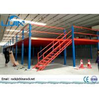 Double T-Steel Industrial Mezzanine Floors Steel Platform For Workshop