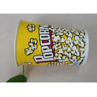 Buy cheap 85oz Custom Printed Paper Cups , Paper Popcorn Boxes Containers OEM Acceptable from wholesalers
