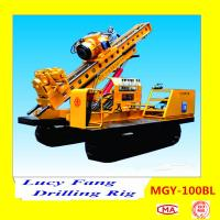 Buy cheap China Multi-function MGY-100BL Crawler Jet-grouting Drilling Rig With Hydraulic Chuck from wholesalers