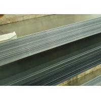 Buy cheap 0.14 / 0.6mm Thick Hot Dip Galvanized Steel Sheet Zinc Coating 30 - 600g / M2 from wholesalers