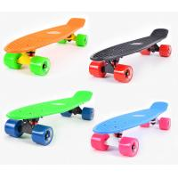 Buy cheap Losenka MS309 22.5inch candy color plastic skateboard with 3.25 inch aluminum truck from wholesalers