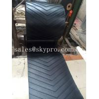 Buy cheap 400-2500mm Width Chevron rubber conveyor belt for inclination conveying from wholesalers