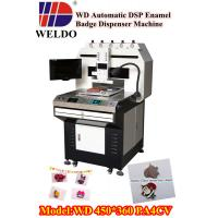 Buy cheap WD  DSP  system automatic enamel badge dispensing machine from wholesalers
