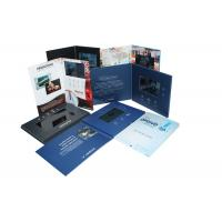 Quality Handmade USB downlaoding CMYK printing Video Brochure Card for fair display for sale
