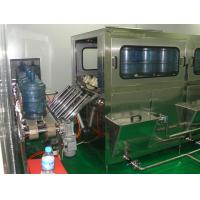 Quality Automated Pure Water Barrel Filling Machine Equipment  5 Gallon Filling Unit 3550*800*1800mm for sale