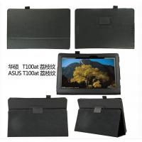 Buy cheap Slim Folio Litchi PU Leather Case Stand Cover For ASUS Transformer T100AT from wholesalers