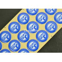 Buy cheap Top Class PP Waterproof Epoxy Doming Badges Resin Epoxy Logo Badges product