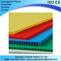 Buy cheap Floor Protection Black Corflute Board from wholesalers
