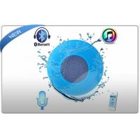 Buy cheap Waterproof Bluetooth Wireless Stereo Mini Speakers With Suction Cup For Showers product