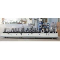 Buy cheap UPVC and aluminum Multifunction profile wrapping machine using PUR hotmelt glue from wholesalers