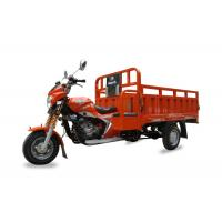 Buy cheap Air Cooled Gasoline Three Wheel Cargo Motorcycle , Chinese Tricycle Motorcycle from wholesalers