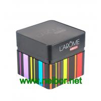 Buy cheap square shape luxury tinplate packaging box for facial mask from wholesalers