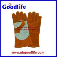 Buy cheap leather welding gloves ,working gloves,industry gloves from wholesalers