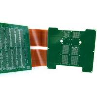 Buy cheap Quick Turn FR4 Green Multi layer rigid flex pcb design immersion gold / silver from wholesalers