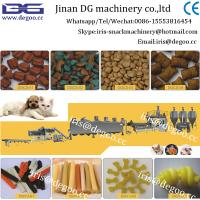 Buy cheap Pet food production line for cat dog fish bird from wholesalers