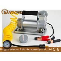 Buy cheap 150Psi Metal 40mm Cylinder Car Small Portable Air Compressor 12V 72L / Min Air Flow from wholesalers