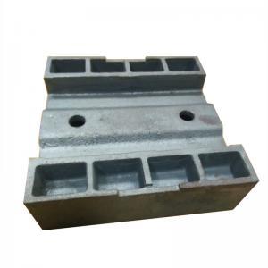 Buy cheap Weight 15kg Surface Roughness 6.3um 12.5um Bi Metal Rail Casting product