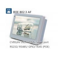 Sibo Wall Poe Tablet IPS Android OS Wall Mount Tablet Q896S For Building Controlling System