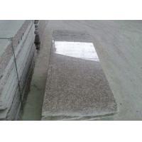 Peach Red Granite Stone Tiles / Slabs 2 - 3g / M³ Granite Density