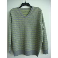Buy cheap Men's V-neck cashmere sweater from wholesalers