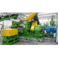 Buy cheap Full Auto Waste Tyre Recycling Machine High Efficiency With 1 Year Warranty from wholesalers