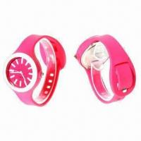 Buy cheap Fashionable Silicone Sports Watch from wholesalers