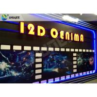 Buy cheap SGS Dynamic 12D Cinema XD Simulator With 3 DOF Chairs / Motion Chair System from wholesalers