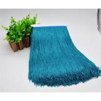 Buy cheap Thickness fluorescent cheap ODM polyester bullion fringe tassel trimming for dancing dress from wholesalers