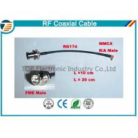 Buy cheap High Performance Male Female Rf Coaxial Cable RG174 With MMCX Connector Series from wholesalers