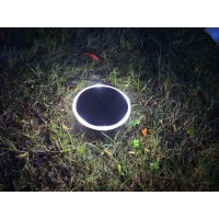 Buy cheap PC Warm White 0.6W Solar Led Garden Light 1200mah FCC from wholesalers