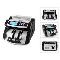 Buy cheap Automatic Multi-Currency Cash Banknote Money Bill Counter Counting Machine LCD Display with UV MG Counterfeit Detector F from wholesalers