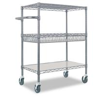 Buy cheap Cold Room & Frozen Storage Custom Metal Shelving Stainless Steel Trolley & Carts System from wholesalers